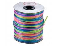 Hilo Poliamida 2mm, rollo 91m Multicolor. - 1 METRO -