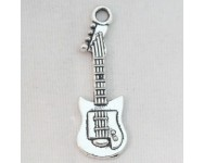 Colgante Metal Guitarra electrica.32x10mm