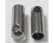 Terminal Acero Inoxidable 7x3mm.