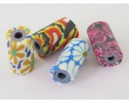 Mix Murrinas fimo Flores  10x5mm. Varios colores
